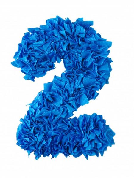 dos azul