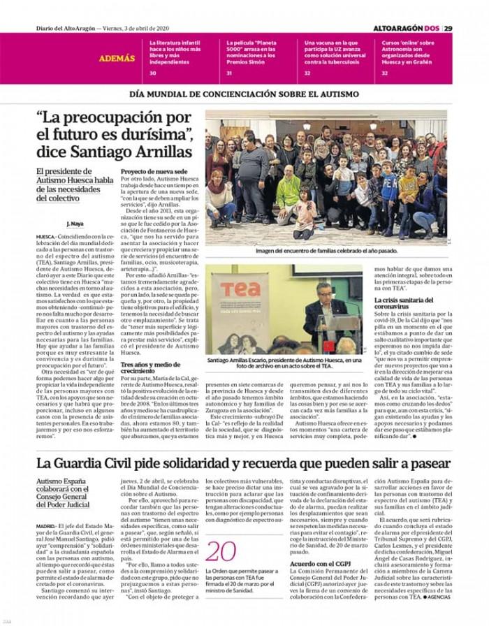 3 de abril Diario del Altoaragón (página derecha)
