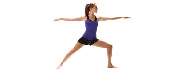 postura guerrero yoga